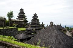 Ancient Bali. Ancient temple in Bali Indonesia stock photos