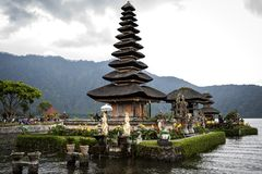 Ancient Bali. Ancient temple in Bali Indonesia stock image