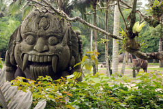Ancient balinese idol Stock Photos