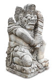 Ancient Balinese statue Stock Photography