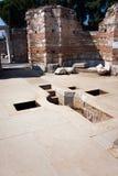 Ancient Baptismal Font Stock Photos
