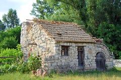Ancient barn Royalty Free Stock Photos