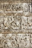 Ancient bas-relief on the Arch of Galerius Stock Photography