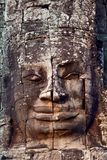 Ancient bas-relief at the Bayon, Cambodia Royalty Free Stock Images