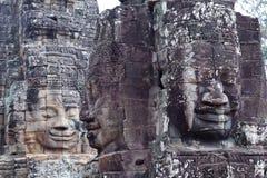 Prasat Bayon temple in Angkor Thom, Cambodia Royalty Free Stock Photography
