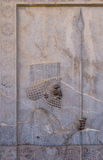 Ancient bas-reliefs of Persepolis Royalty Free Stock Image
