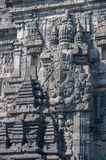 Bas-reliefs of Prambanan temple, Java, Indonesia Royalty Free Stock Photography