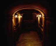 Ancient basement. Picture presneting an ancient basement Royalty Free Stock Photography