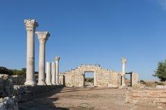 Ancient basilica Royalty Free Stock Photos