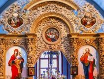 Ancient Basilica Mikhaylovsky Church Vydubytsky Monastery Kiev Ukraine Stock Image