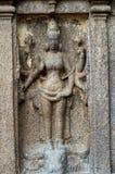 Ancient basreliefs  and statues in Mamallapuram, Tamil Nadu, I Stock Photos