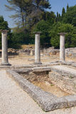 The ancient baths in Glanum.. France. Stock Images