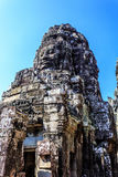 Ancient Bayon temple in Angkor Thom, Siem Reap, Cambodia Stock Photography