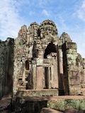 Ancient Bayon Temple in Cambodia Stock Photography