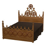 Ancient bed Royalty Free Stock Images
