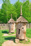 Ancient beehive from the deck Royalty Free Stock Photos