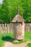 Ancient beehive from the deck Royalty Free Stock Images