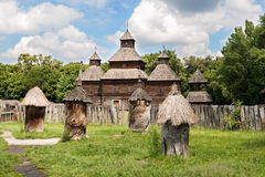 Ancient beehives Royalty Free Stock Images