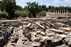 Ancient Beit Shean Stock Photos
