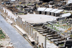 Ancient Beit Shean Stock Photography