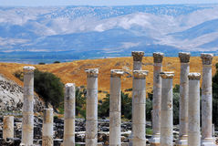 Ancient Beit Shean Royalty Free Stock Photography