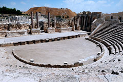 Ancient Beit Shean Amphitheatre Royalty Free Stock Photo