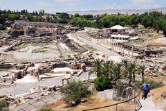 Ancient Beit Shean - Israel Stock Images