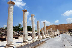 Ancient Beit Shean - Israel Royalty Free Stock Photos