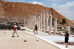 Ancient Beit Shean - Israel Royalty Free Stock Images