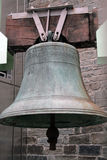 Ancient bell. An ancient bell in a street of Dublin Stock Photos