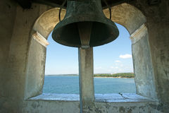 Ancient bell. Euphrasian basilica, Porec, Istria, Croatia. I Royalty Free Stock Photography