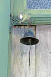 Ancient bell on front door of the historic city Stock Photos