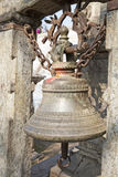 Ancient Bell at Pashupatinath, Kathmandu, Nepal Stock Images