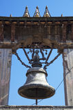 Ancient Bell at Patan Durbar Square, Nepal Royalty Free Stock Photography