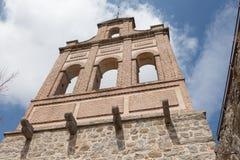 Ancient bell tower in Avila, Spain Stock Image