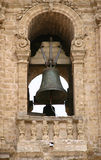 Ancient bell tower detail  Royalty Free Stock Photos