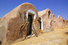 Ancient Berber town royalty free stock photos
