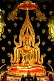 Ancient big golden Buddha Statue in Thailand Royalty Free Stock Photo