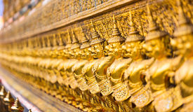 The ancient bird warriors. Wat Pho Temple in Bangkok Stock Photos