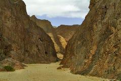 Ancient Black canyon Royalty Free Stock Photo
