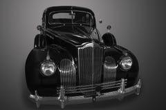 Ancient black car Stock Photos