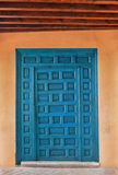 Ancient Blue Door Royalty Free Stock Photo