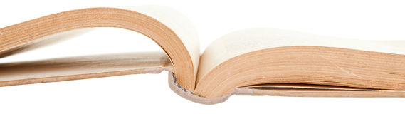 Ancient book. Age-old book, isolated on a white background Royalty Free Stock Photo