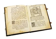 The ancient book Stock Images