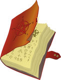 The ancient book. With signs Royalty Free Stock Photography