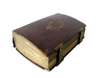 Ancient book. Isolated royalty free stock photos