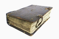 The ancient book. Of eighteenth century Royalty Free Stock Image