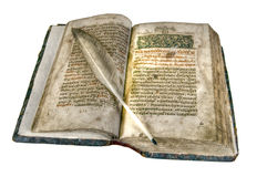 The ancient book stock photography