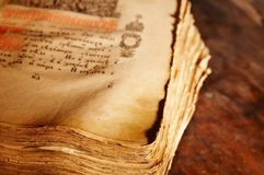 Ancient book Royalty Free Stock Photos