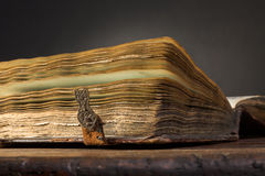 Ancient book Stock Photography